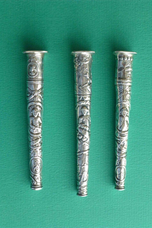 Antieke zilveren naaldenkoker Zoutman Blog Zilver.nl