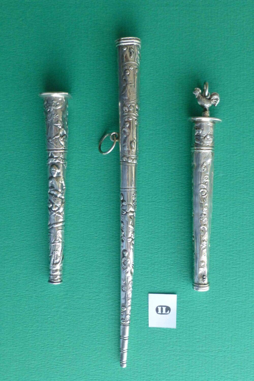 Antiek zilver naaigerei met Zouteman Blog Zilver.nl