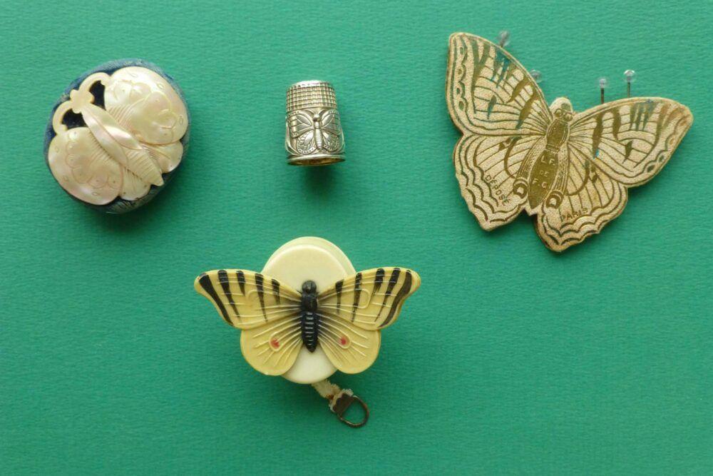 Zilveren vingerhoed met een vlinder Blog Zilver.nl