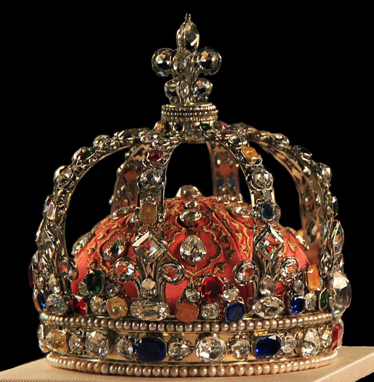 Kroon van Lodewijk XV van Frankrijk Blog Zilver.nl