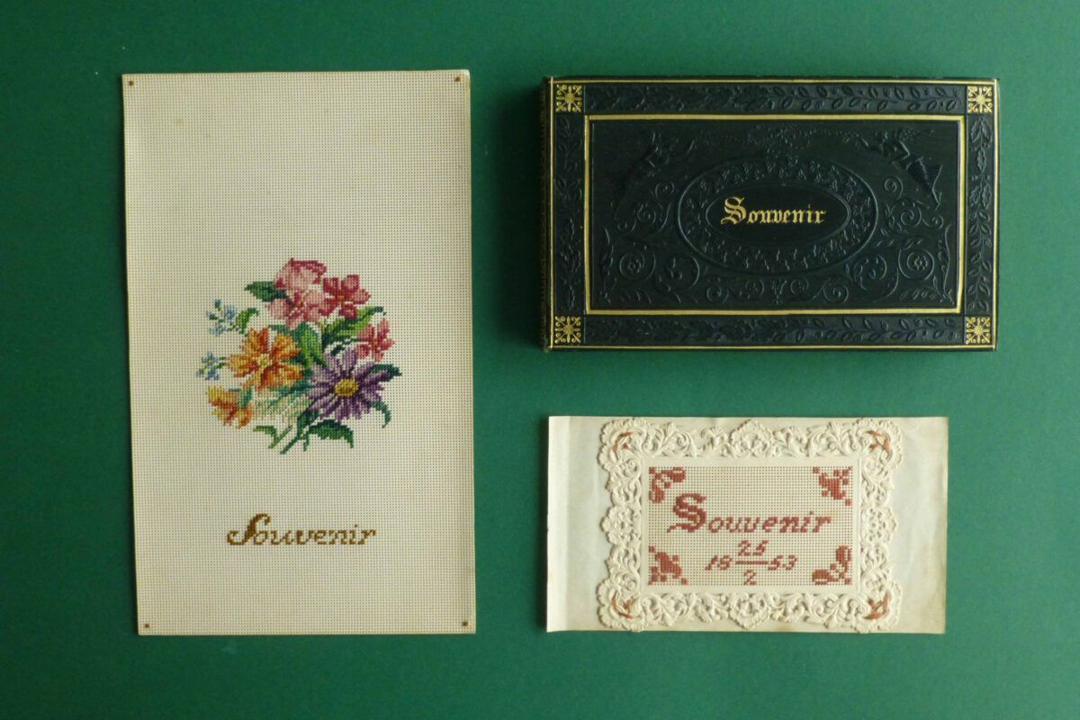 Antiek vriendenboekje souvenir Blog Zilver.nl