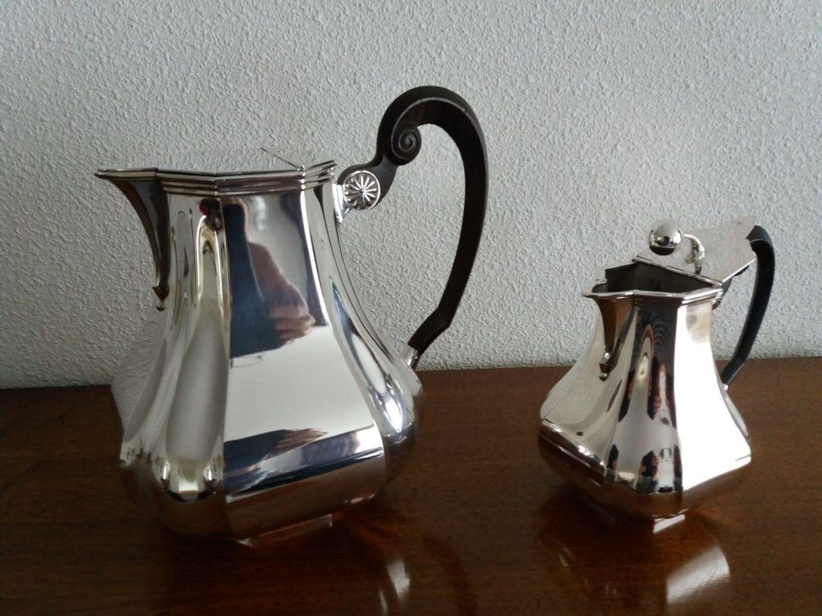 Zilveren Versaille bolpas kannen