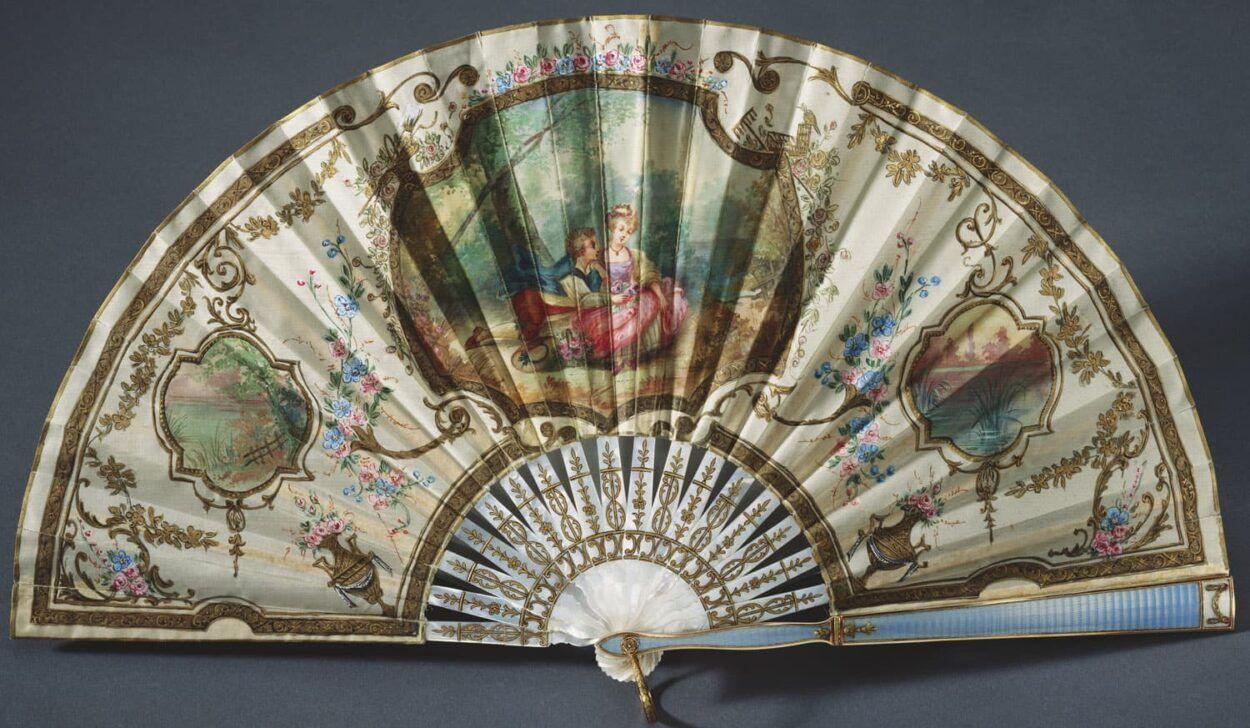 De Fabergé waaier van Queen Mary Blog Zilver.nl