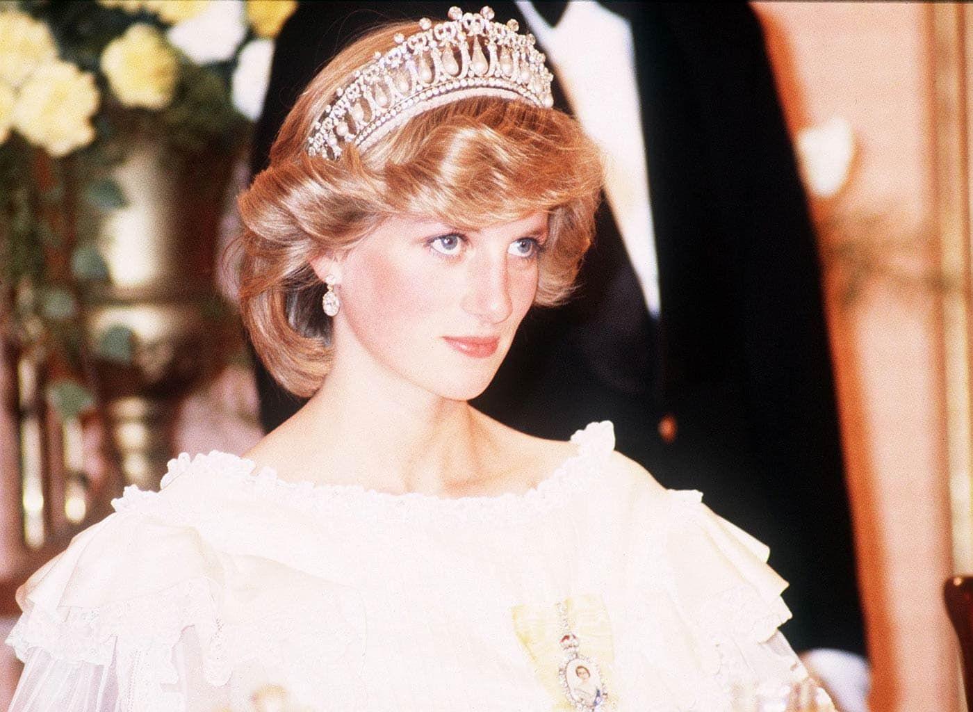 Prinses Diana met het Cambridge Lover's knot diadeem Blog Zilver.nl