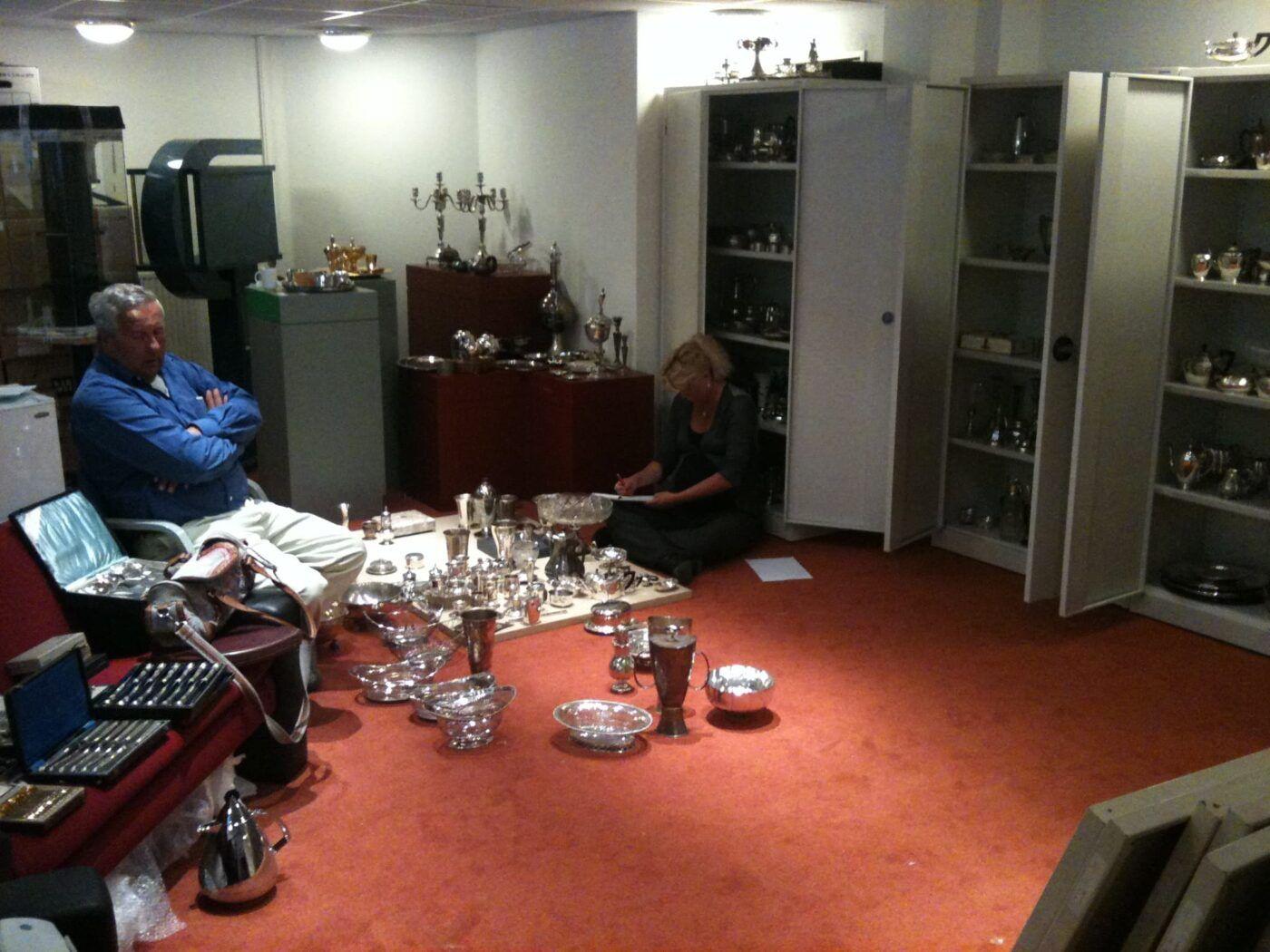 Historische zilvercollectie inkopen van het van kempen en Begeer Museum Ursula Boonstra de Jonge