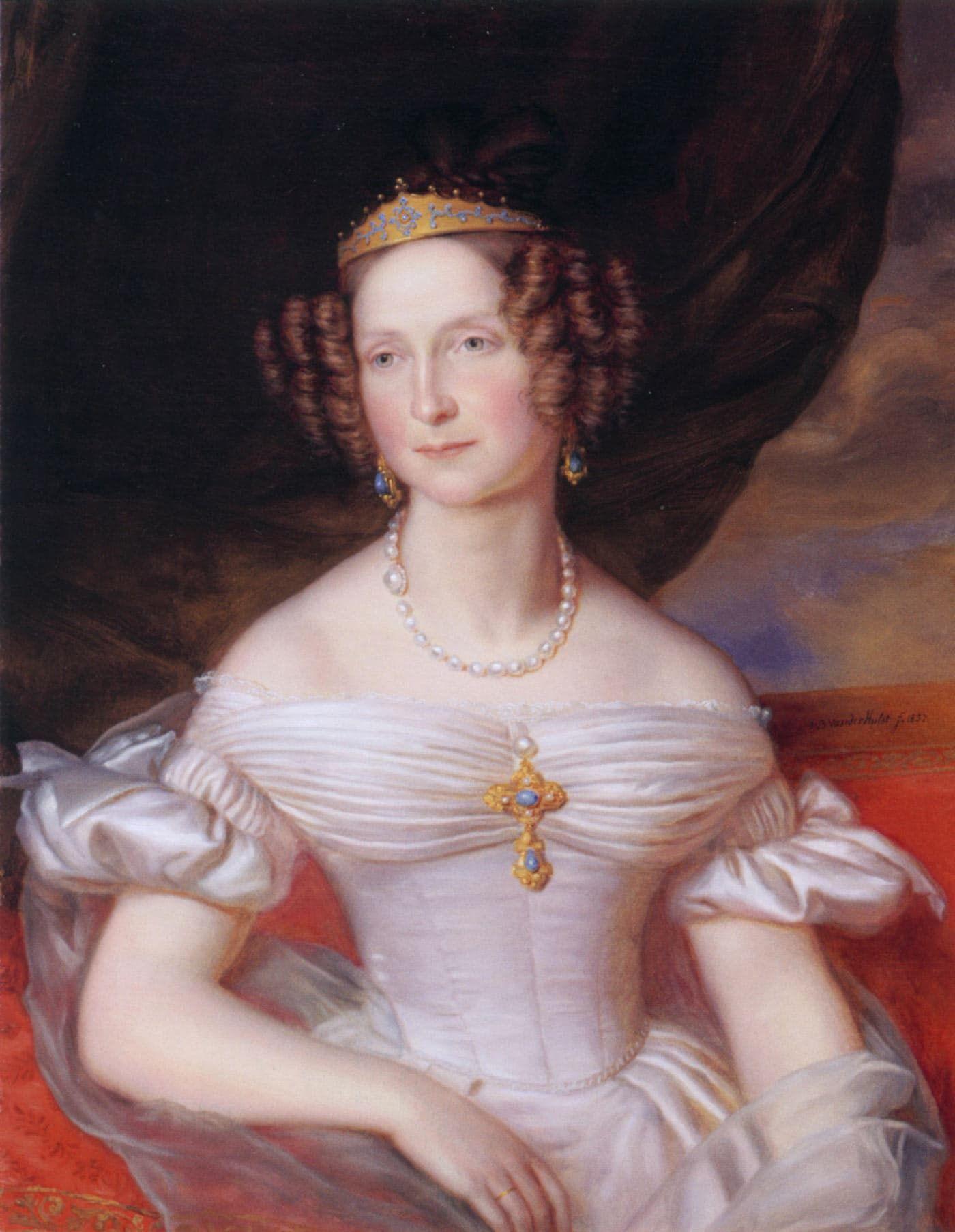 Koningin Anna Pavlovna 1795-1865 Blog Zilver.nl