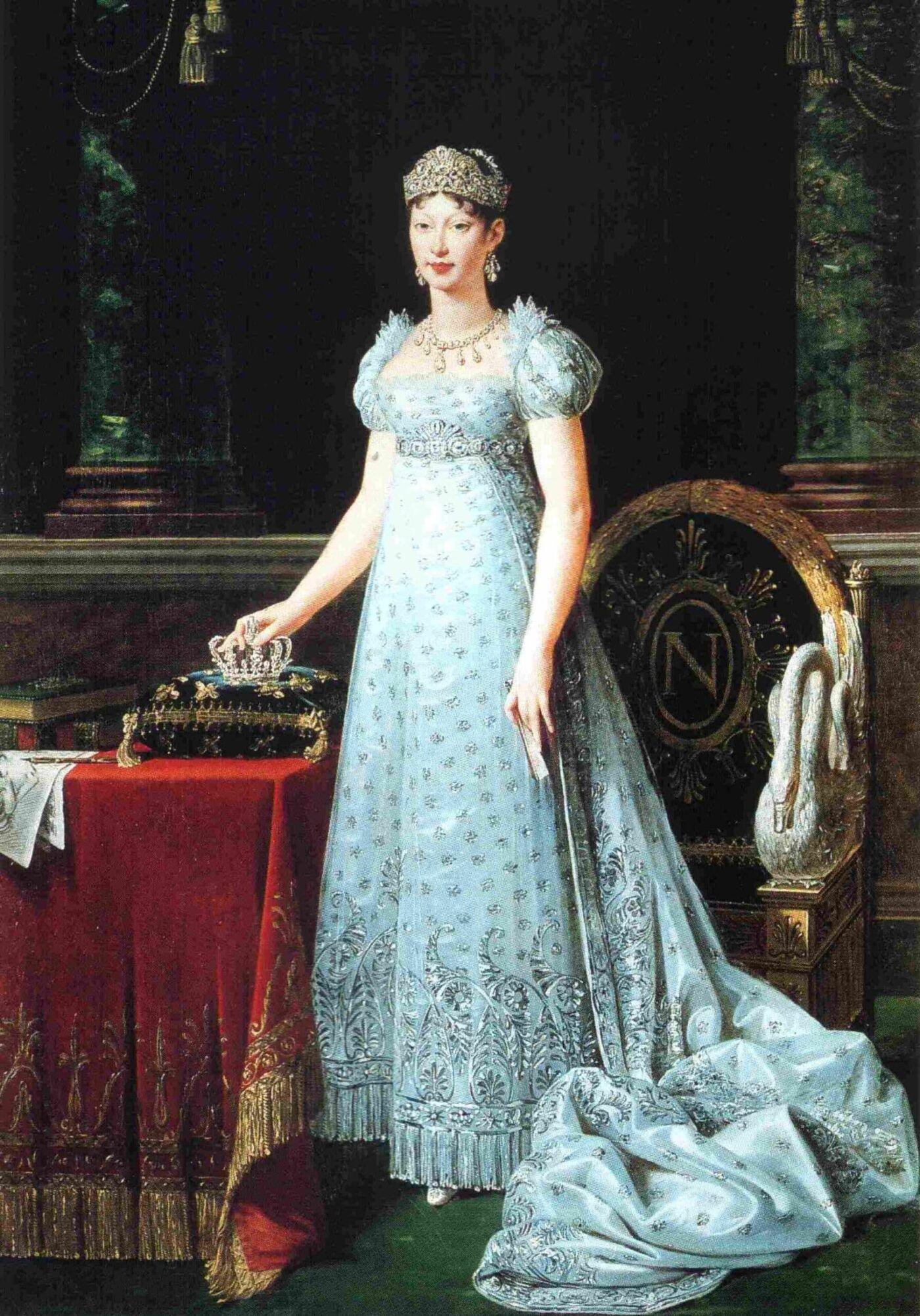 keizerin Marie-Louise met Chaumet sieraden Blog Zilver.nl