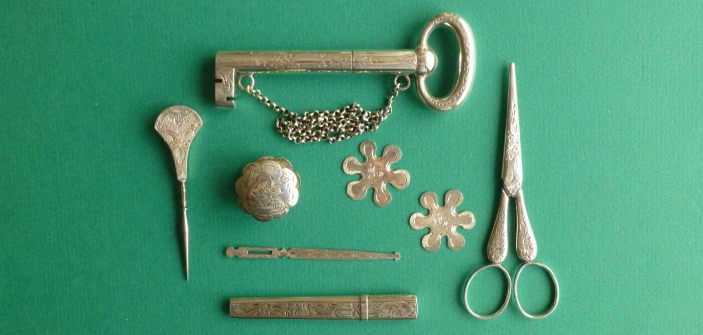 Antiek zilveren naaigerei Blog Zilver.nl