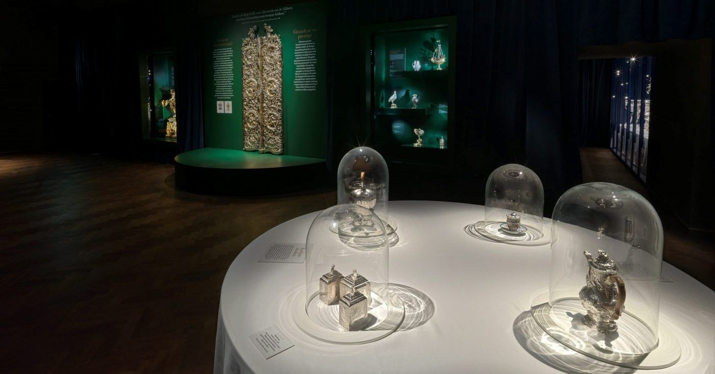 Presentatie zilverwerk in het Diva Museum Antwerpen Blog Zilver.nl