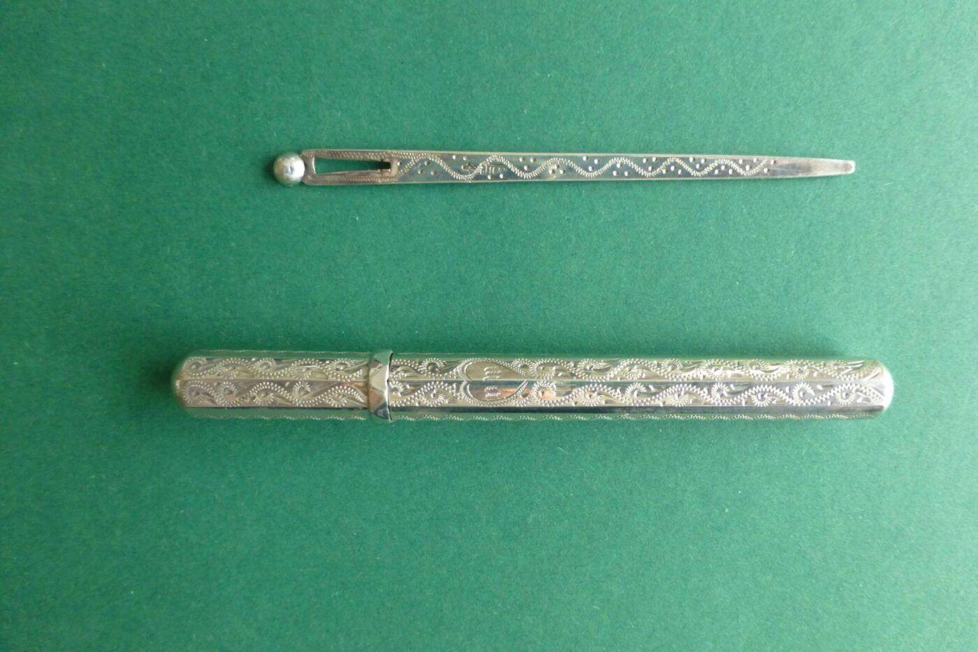 Zilveren naaldenkoker zilveren naald Blog Zilver.nl