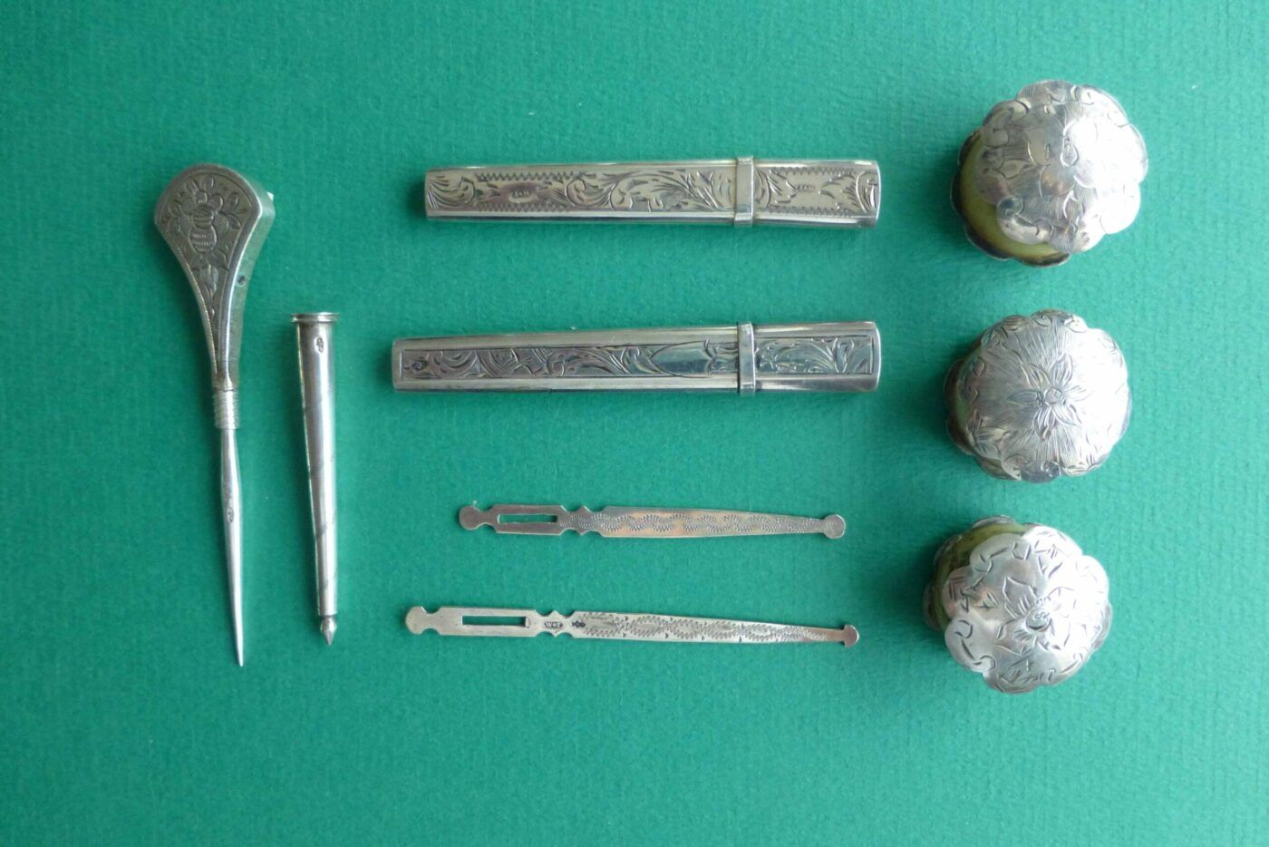 Zilver naaigerei van Poolman