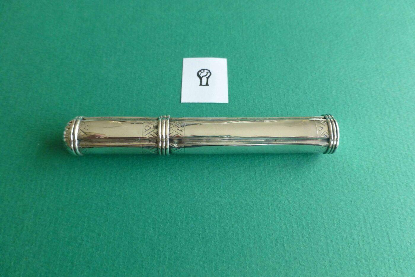 Zilveren naaldenkoker Pieter van Somerwil I Blog Zilver.nl