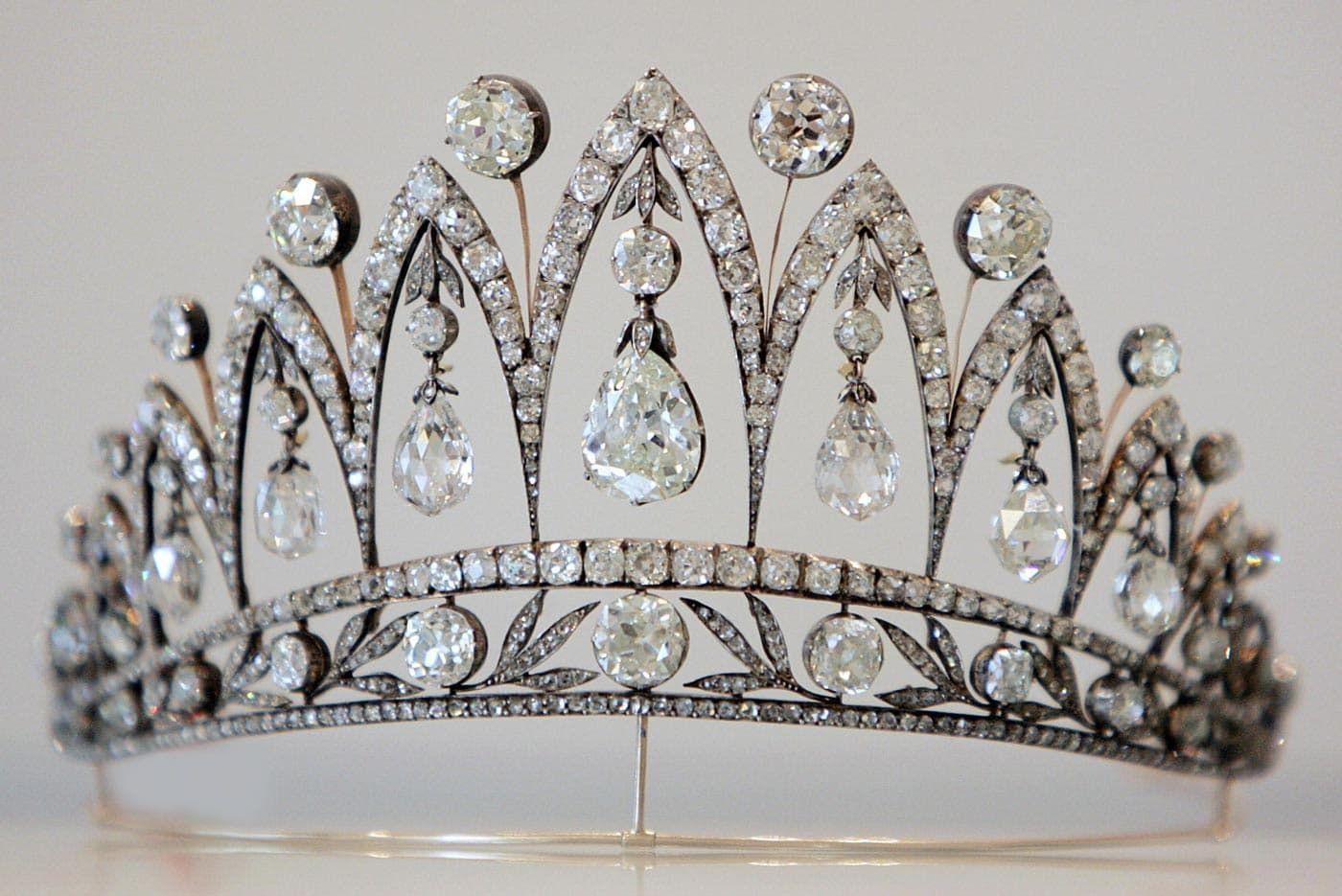 Diamanten van keizerin Josephine in een diadeem van Fabergé Blog Zilver.nl