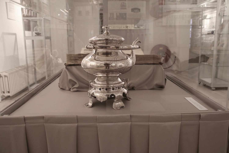 Foto van de tentoonstelling.