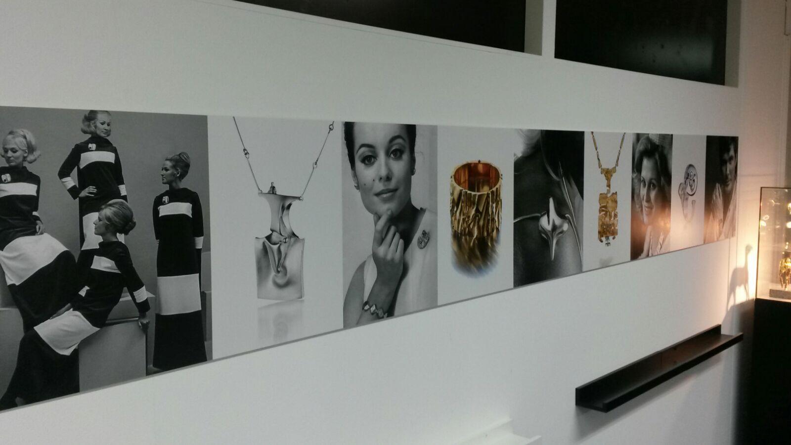 Hall of Fame in de werkplaats van Lapponia