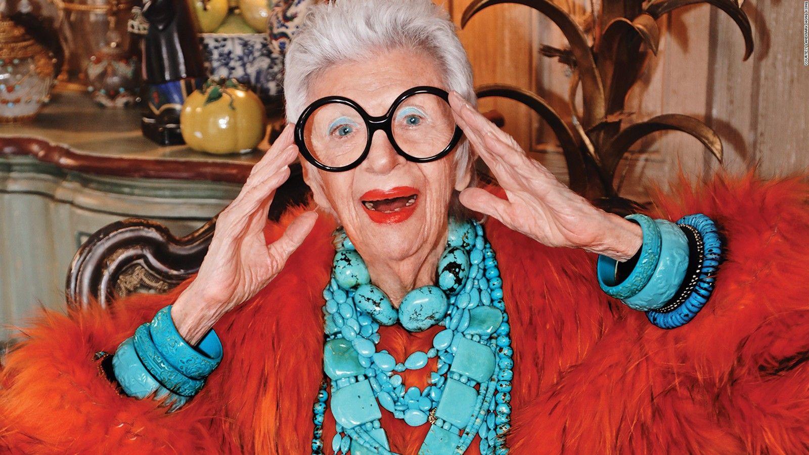 Iris Apfel stijlicoon sieraden fan