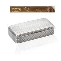 zilveren snuifdoos antiek