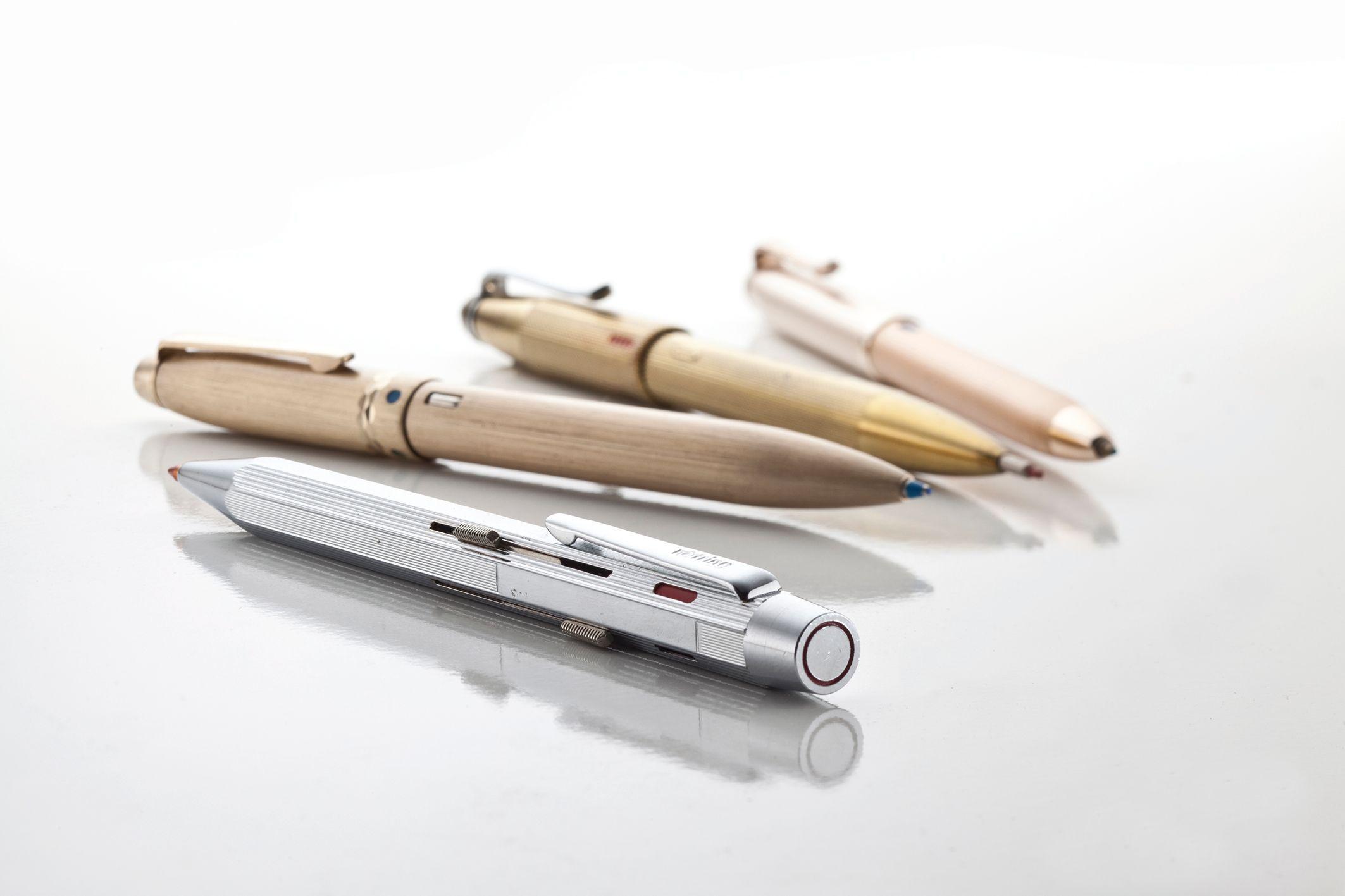 Vierkleuren pen van Waldmann