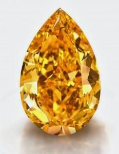 Orange diamant