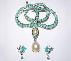 zilveren markasiet sieraden met turkoois en parels