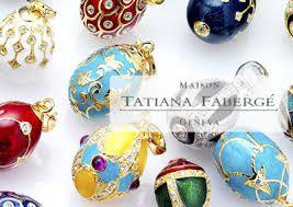 De zilveren ei-hangers van Tatiana Fabergé