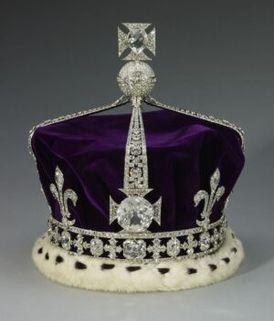 De Engelse kroon die bij haar uitvaart op de kist van koningin moeder Elizabeth lag Blog Zilver.nl