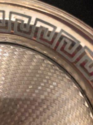 versiering op zilver meanderand Zilver.nl