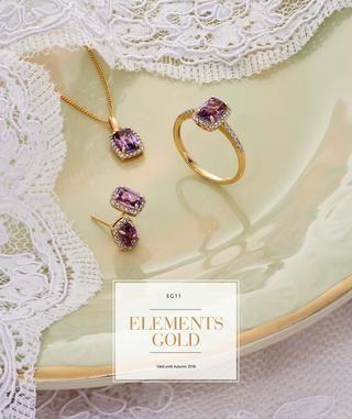 Elements Gold 9 karaats gouden sieraden.