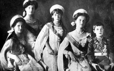 De 5 kinderen van Tsaar Nicolaas II Blog Zilver.nl