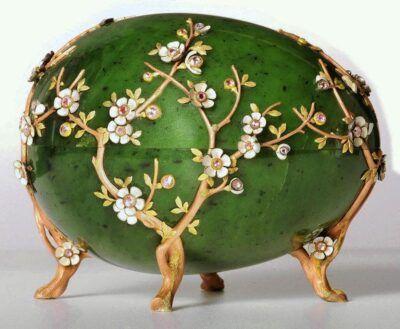 Het appelbloesem ei uit 1901 van Fabergé Blog Zilver.nl