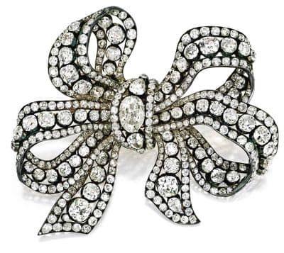 Gouden strikbroche van prinses Marina van Griekenland Blog Zilver.nl