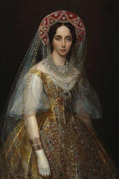 Maria Alexandrovna grootmoeder van Nicolaas II Blog Zilver.nl