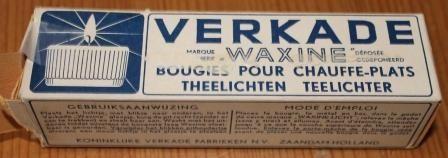 waxinelichtje van Verkade