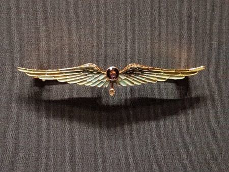Art Nouveau broch vleugels Blog Zilver.nl