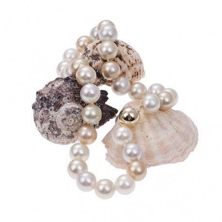 De magie van parels, een organische stof uit een schelp