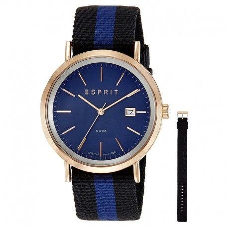 Esprit herenhorloges met verwisselbare horlogebanden