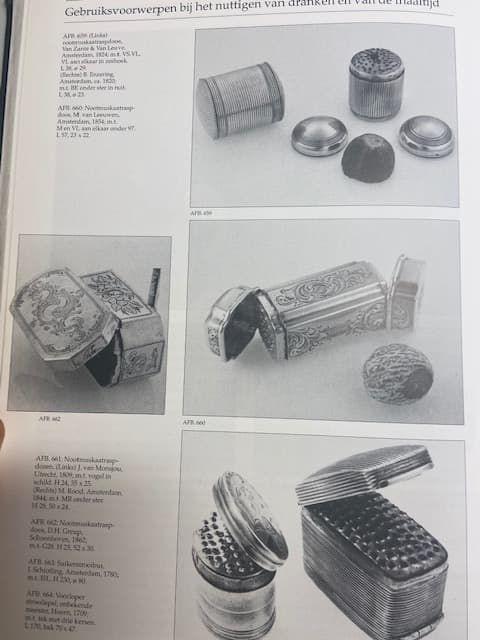 Antieke zilveren nootmuskaatraspen Blog Zilver.nl