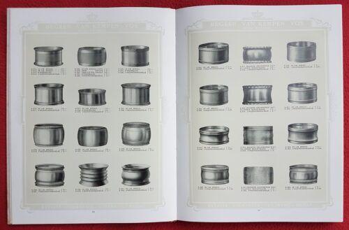 oude zilveren servetringen in catalogi Blog Zilver.nl