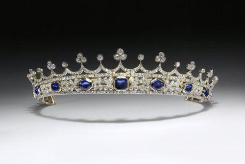 Witgouden tiara met smaragd van Koningin Victoria Blog Zilver.nl