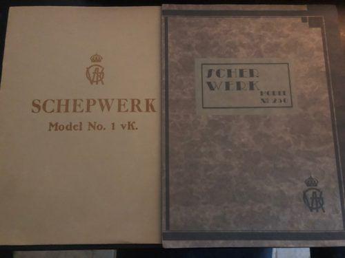 De originele verkoopbrochures van Gerritsen & Van Kempen te Zeist voor model Haags lofje en model 250.