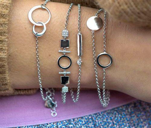 Zinzi zilveren armbandjes en armbanden