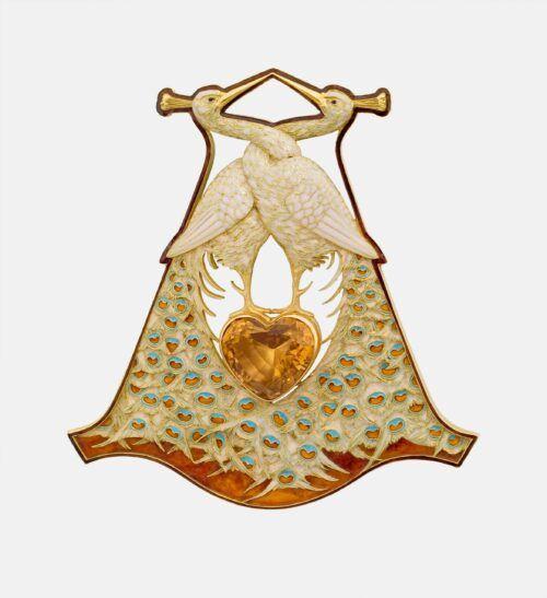 Pauwen hanger Rene Lalique Blog Zilver.nl
