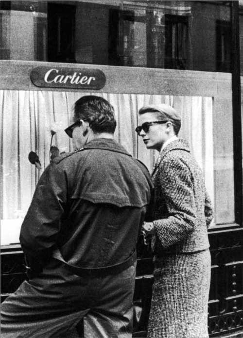 Grace en Renier van Monaco bij Cartier Zilver.nl
