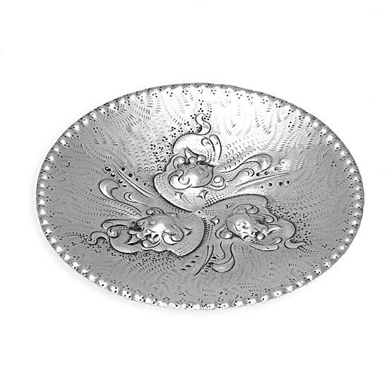 Zilveren schaaltje Joop Holthuis