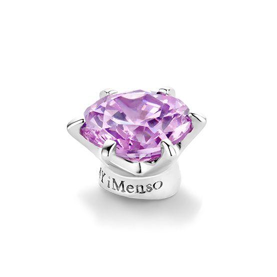 Middensteen voor in de zilveren Elegance ringen van My iMenso