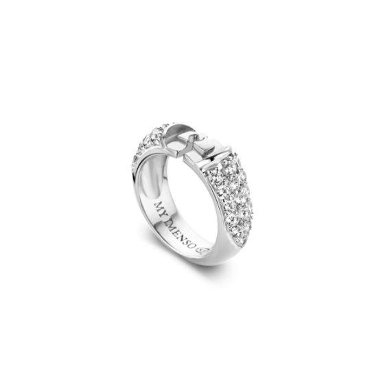 MY iMenso zilveren Elegance ring