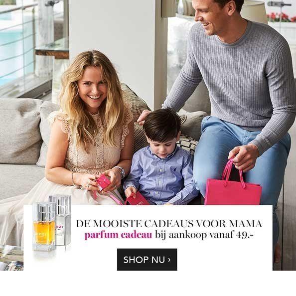 Zinzi moederdagactie flesje Zinzi parfumcadeau vanaf 49,95 euro