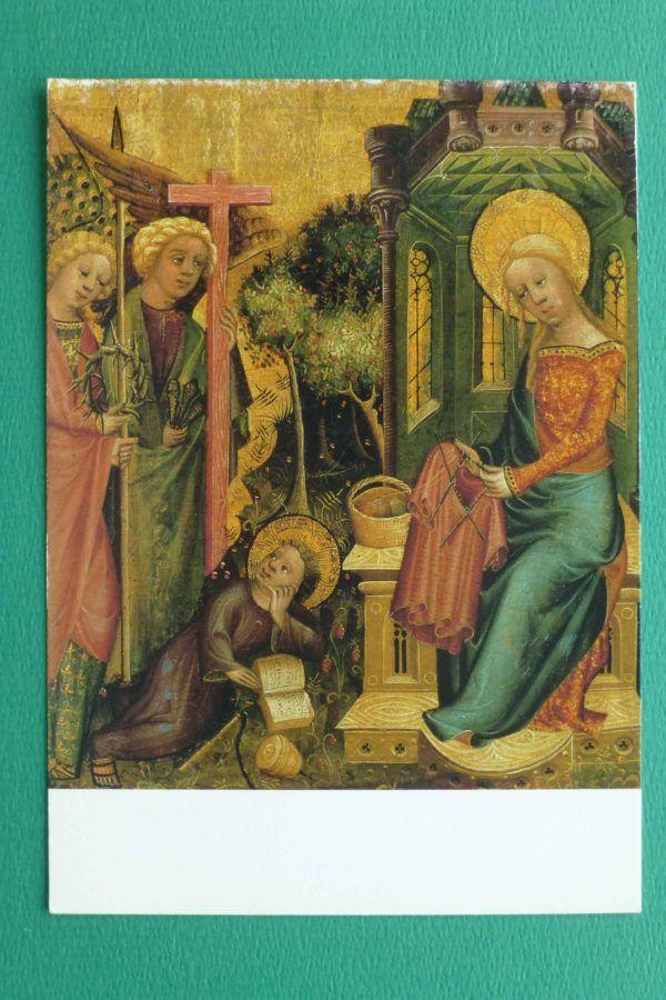 <foto 1 Het bezoek van de Engel door Meester Bertram 1340-1414>