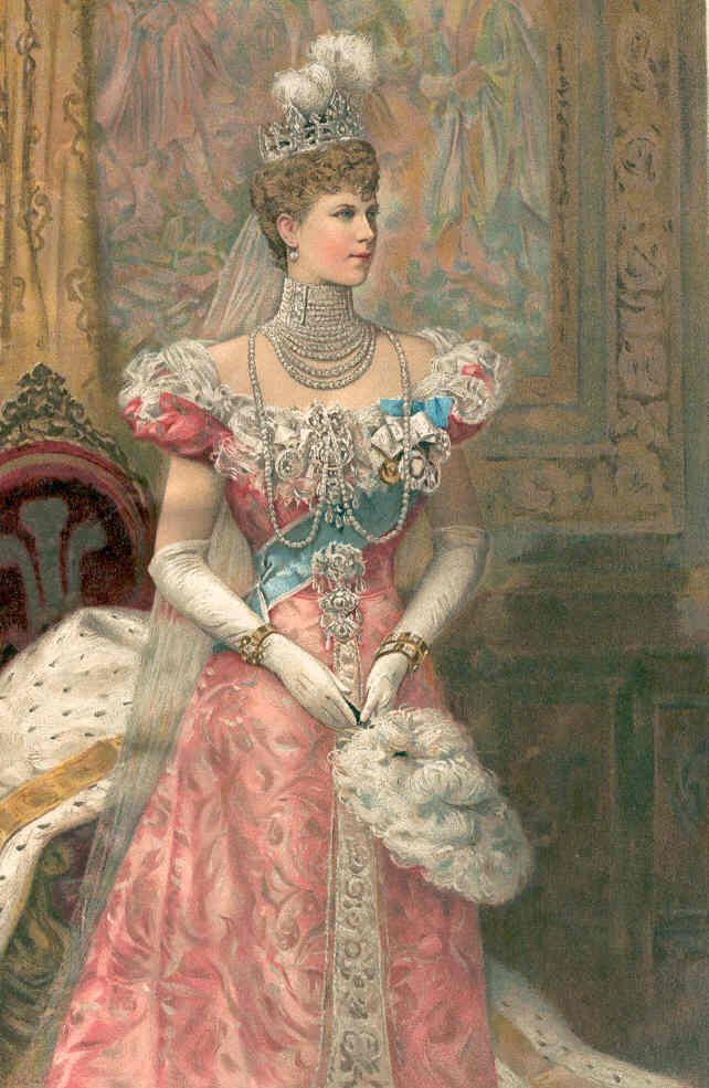 Koningin Mary gemalin van de Britse koning George V Zilver.nl