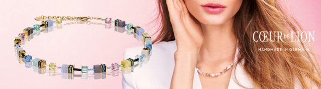 De hit van dit voorjaar de colliers en armbanden van Coeur de Lion in prachtige kleurencombinaties.